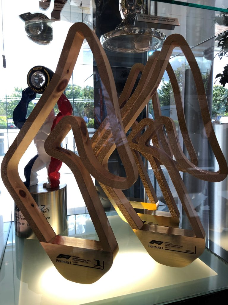 Construction F1 trophy